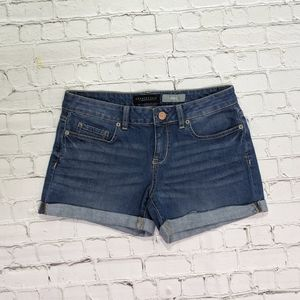 Aeropostale Midi Blue Jean Shorts
